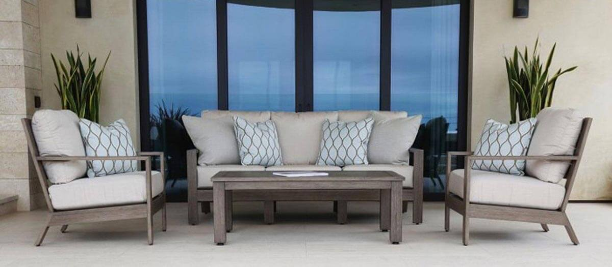 Luxurious Deep Seating Patio Furniture