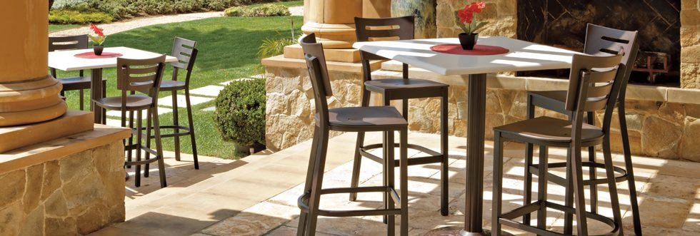 Aluminum, Wicker, MGP Bar & Counter-Height Stools