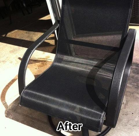 OC Patio Chair Restrapping & Refinishing