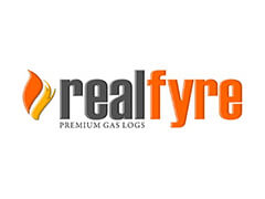 Real Fyre Vented/Vent-Free Gas Logs