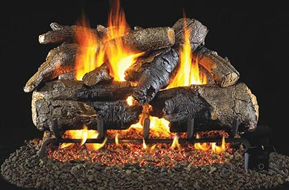 Name Brand Ceramic Gas Logs OC