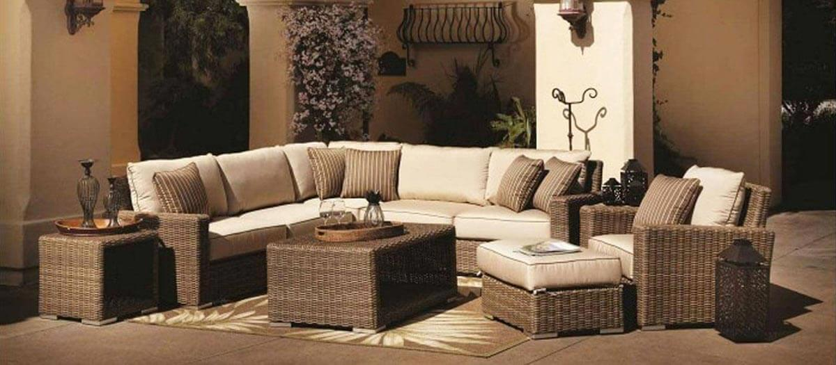 Name Brand Wicker Deep Seating Patio Sets