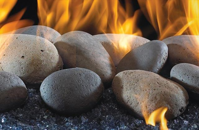 Fire Glass Amp Stones For Outdoor Fire Pits Fireplaces