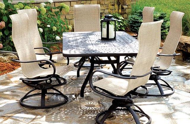 Patio Place Costa Mesa | Homecrest Patio Dining Sets ...