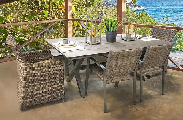 Patio Place Costa Mesa North Cape Patio Dining Sets