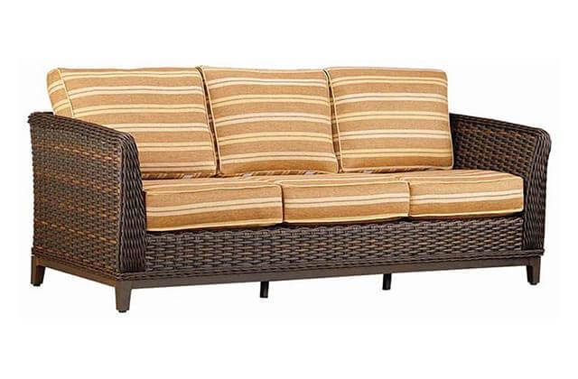 Patio Renaissance Deep Seating Patio Furniture Orange